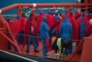 Španělští záchranáři z moře za dva dny vyzdvihli 472 migrantů.