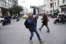 Protesty učitelů v Řecku.