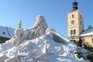 Obří sněhové sochy Krakonoše jsou s Jilemnicí spojené už více než sto let.