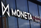 Logo banky Moneta Money Bank.
