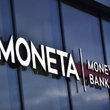 Logo banky Moneta Money Bank.