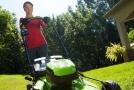AKU zahradní technika má v Mountfieldu zelenou.