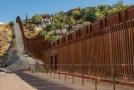 Hranice mezi USA a Mexikem.