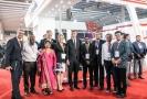 Premiér Andrej Babiš s ministryní průmyslu a obchodu Martou Novákovou na summitu v Indii.
