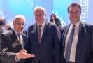 Bývalý bavorský premiér Edmund Stoiber (zleva), Horst Seehofer, odstupující šéf strany CSU a spolkový ministr vnitra  Markus Söder.