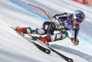 Česká lyžařka a snowboardistka Ester Ledecká dojela ve sjezdu v Cortině d'Ampezzo osmá.