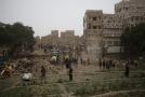 Hlavní městu Jemenu Saná.