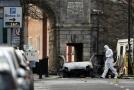 Před budovou soudu v Londonderry v sobotu večer explodovalo auto.