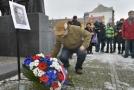 Plzeň poprvé uctila památku Plzeňana Josefa Hlavatého, který se 20. ledna 1969 večer polil petrolejem a zapálil.