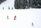 Do střediska ski Bílá zamířilo o víkendu nadměrné množství běžkařů.