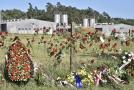 Místo bývalého koncentračního tábora, vepřín Lety.