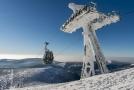 Bylo tam jasno, okolo dvou metrů sněhu a objekty pokrývala až 40 centimetrů silná vrstva námrazy a sněhu.