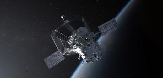Parker Solar Probe očima umělce.