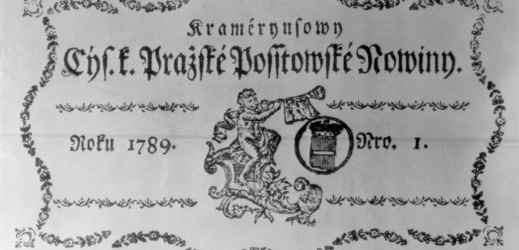 Pražské poštovské noviny vycházely jen ve dnech, kdy jezdila pošta.