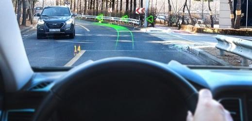 Hyundai a WayRay odhalily navigační systém, jenž disponuje holografickým zobrazováním.