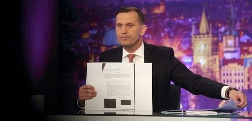Odhalení. Jaromír Soukup upozorní na nové kšefty České televize.