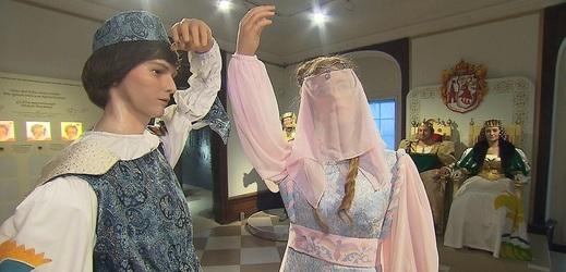 V Moritzburgu se koná výstava Tři oříšky pro Popelku.