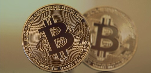 Virtuální měna Bitcoin.