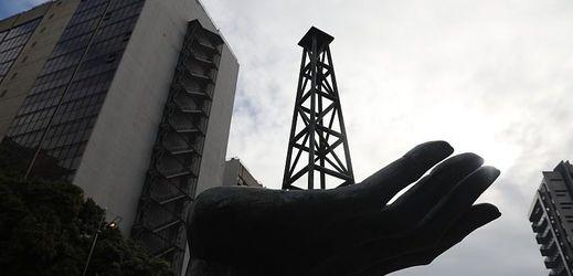 Sídlo státní ropné společnosti Petróleos de Venezuela (PDVSA) v Caracasu.