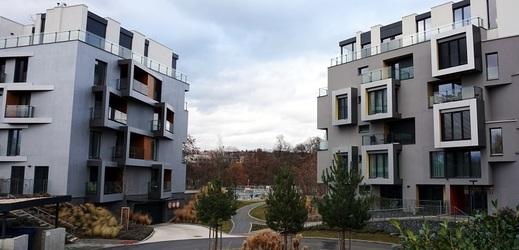 Projekt DOCK Rezidence v Praze.