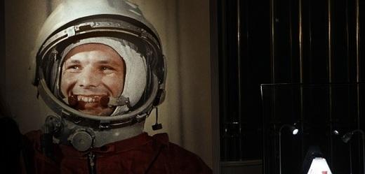 Ruský kosmonaut a první člověk ve vesmíru Jurij Gagarin.