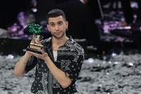 Rapper Mahmood.