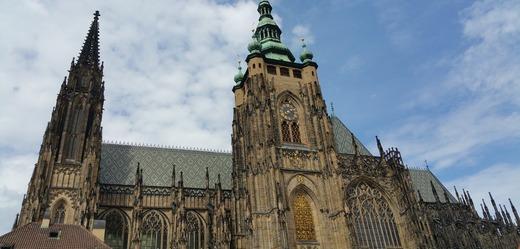 Katedrála svatého Víta na Pražském hradě.