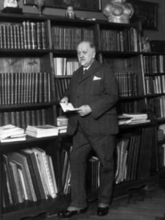 Kamil Hilbert, architekt a literární vědec.
