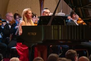 Valentina Lisitsa a ředitel festivalu Nikola Bojcev.