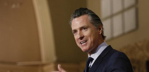 Kalifornský guvernér Gavin Newsom.