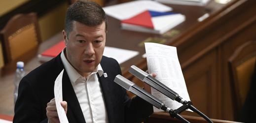 Předseda hnutí SPD Tomio Okamura.