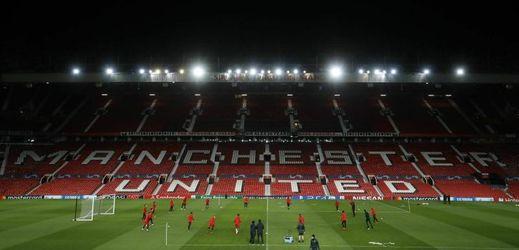 Stadion Old Trafford v Manchesteru.