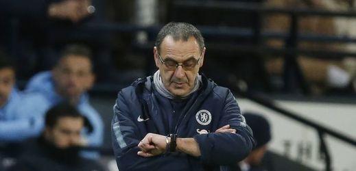 Trenér Chelsea Maurizio Sarri.