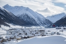 Zimní resort Livigno.