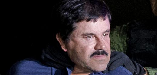Mexický narkobaron Joaquín Guzmán.