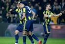 Radost hráčů Fenerbahce po vstřeleném gólu.