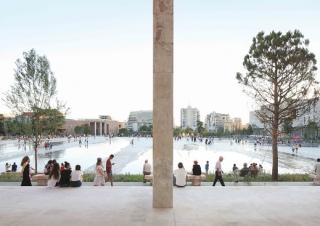 Skanderbeg Square.