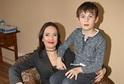 Tereza Kostková se synem.