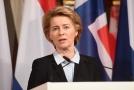 Německá ministryně obrany Ursula von der Leyenová na mnichovské bezpečnostní konferenci.