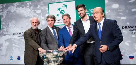Losování základních skupin nového formátu Davis Cupu.