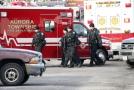 Zásah policie v průmyslovém areálu v Illinois.