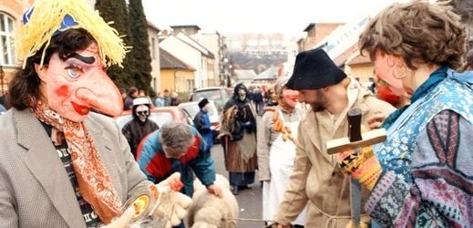 Snímek z minulého ročníku Lešetínského fašanku.