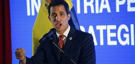 Prozatímní venezulský prezident Juan Guaidó.