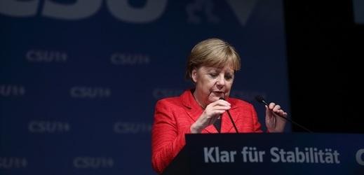 Kancléřka Angela Merkelová.