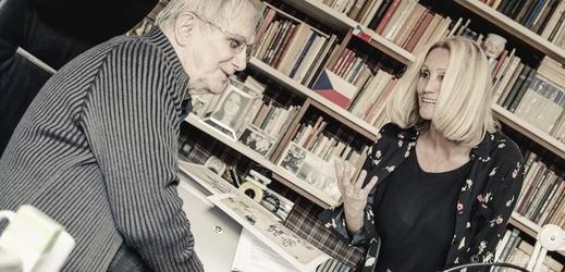 Olga Sommerová a Jiří Suchý.
