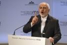 Íránský ministr zahraničí Mohammad Džavád Zaríf řečnil na mnichovské bezpečnostní konferenci.