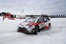 Estonec Ott Tänak vyhrál Švédskou rallye.