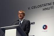 Babiš obhájil post předsedy ANO. Proti hlasovalo 13 delegátů