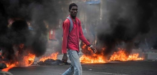 Nepokoje na Haiti.