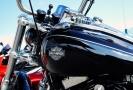 Na motory motorkáři zahrají dílo skladatele Dietera Schnebela nazvané Koncert pro 9 Harley Davidson (ilustrační foto).